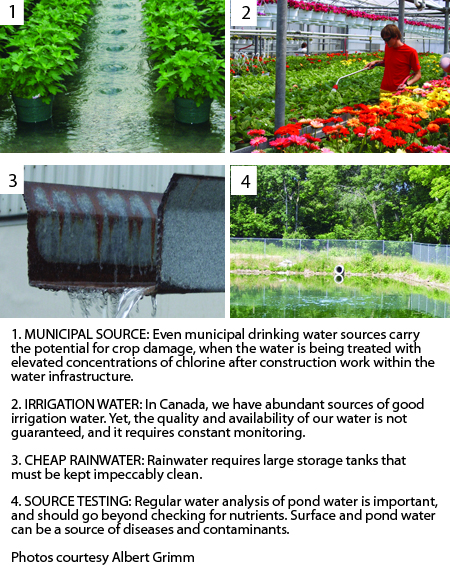 Water Quality Structures : Irrigation water quality challenges greenhouse canada