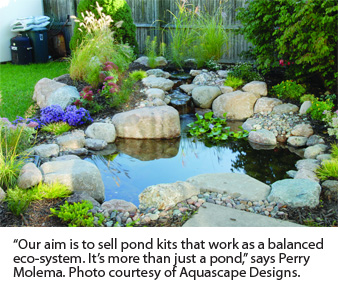 A Wide Selection Of Water Garden Pond Systems Are Available That Are Well  Suited For The Do It Yourself Garden Centre Operator, Says Perry Molema  With ...