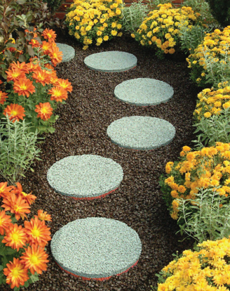 Easy Gardener Offers Eco Friendly Stepping Stones And