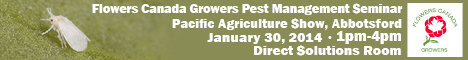 Flowers Canada Growers Pest Management Seminar