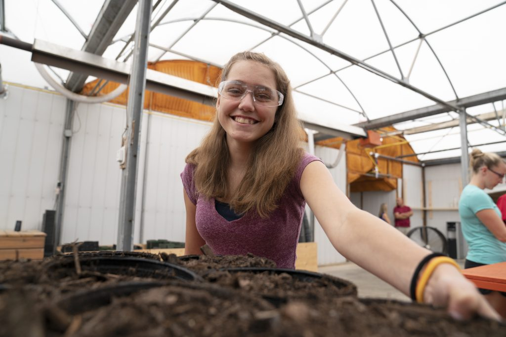 Greenhouse training facility preps youth with horticultural skills